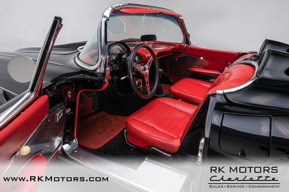 1958 Black Chevrolet Corvette   | C1 Corvette Photo 3