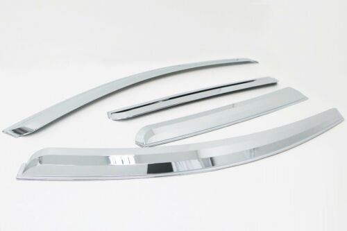 For Vauxhall Opel Antara 2007+ Chrome Wind Deflectors Set (4 pieces)