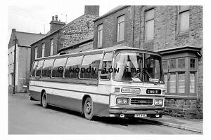 pu0232 - Clarks of Consett Coach Bus - CPT 841L at Consett - photograph
