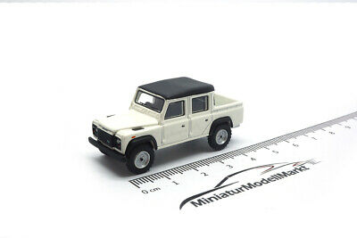 #87096 - BoS-Models Land Rover Defender 110 Double Cab Pickup weiß - 1990 -