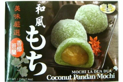 Royal Family Japanese Mochi, Coconut and Pandan, 7.4oz (pack of 1)
