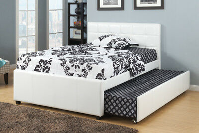 Poundex Furniture F9216F Full Bed With 12 Slats And Trundle