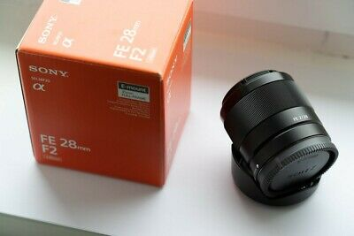 Sony FE 28mm F2 (SEL28F20), 6mth old, mint
