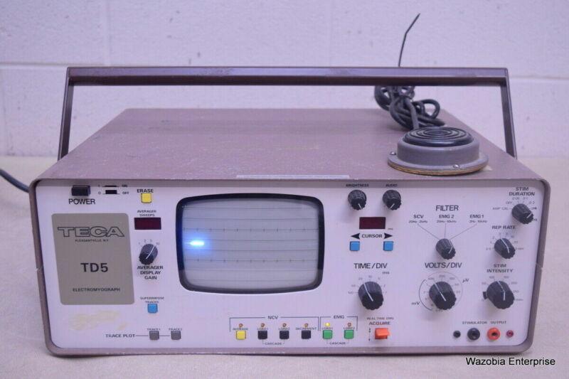 TECA TD5 ELECTROMYOGRAPH EEG