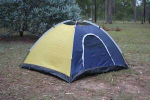 FOUR MAN TENT AS NEW COMPLETE WITH PEGS, POLES, BAG etc.... Grafton Clarence Valley Preview