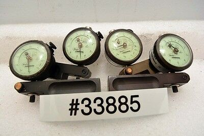 Lot Of Four Mahr Federal 12i Dial Indicators Inv.33885