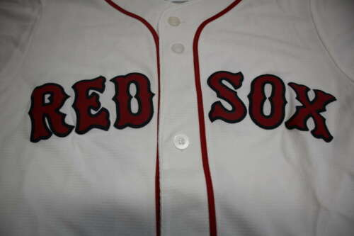 Majestic Kids Youth Medium Red Sox Sale 41 Jersy D57945