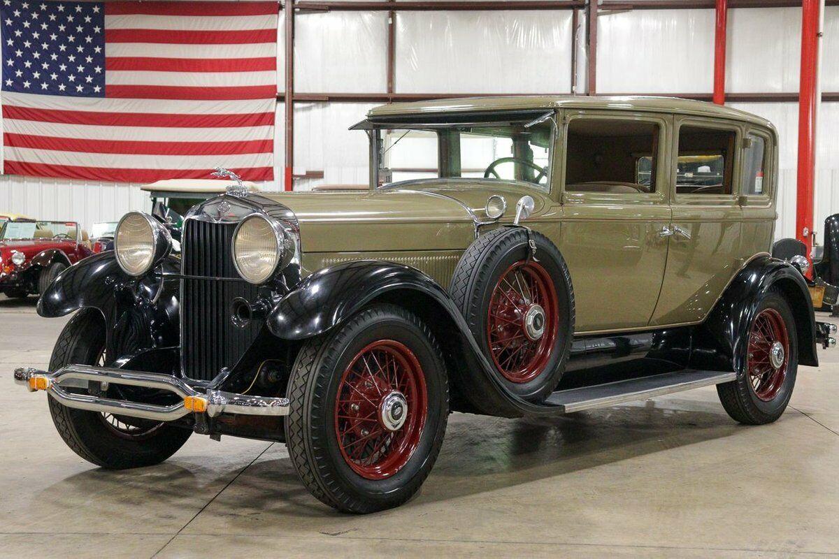 1930 Lincoln L Series  5903 Miles Tan / Black Sedan I6 Automatic