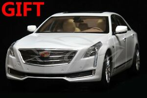 Car Model Cadillac CT6 1:18 (Diamond White) + SMALL GIFT!!!!!!!!!!!