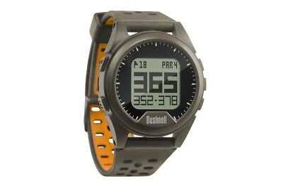 BUSHNELL NEO ION Golf Watch Rangefinder  BRAND NEW + WARRANTY (charcoal/orange)