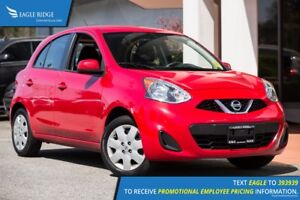 2016 Nissan Micra SV A/C, Aux, Power Windows
