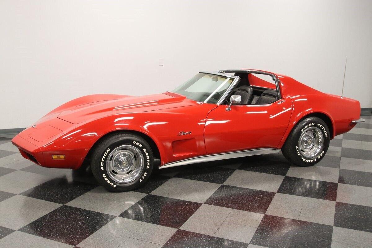 1971 Red Chevrolet Corvette   | C3 Corvette Photo 7