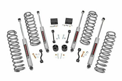 "Rough Country 2.5"" Lift Kit (fit) 2018-2020 Jeep Wrangler JL 4 Door 