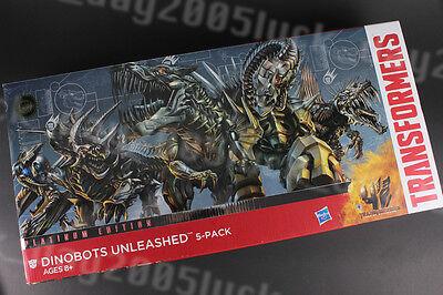 Transformers AOE 4 Platinum Dinobots Unleashed SLOG SLUG STRAFE SCORN GRIMLOCK ()