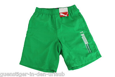 Puma Kinder Jungen Shorts kurze Hose Sporthose 140 / 176 grün NEU