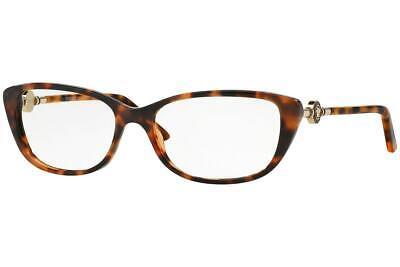 Versace 3206 944 Tortoise & Gold Brille Glasses Eyeglasses Frames Size 52