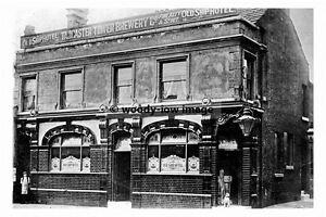 pt8433 - Wakefield , Old Ship Hotel , Kirkgate , Yorkshire - photograph 6x4