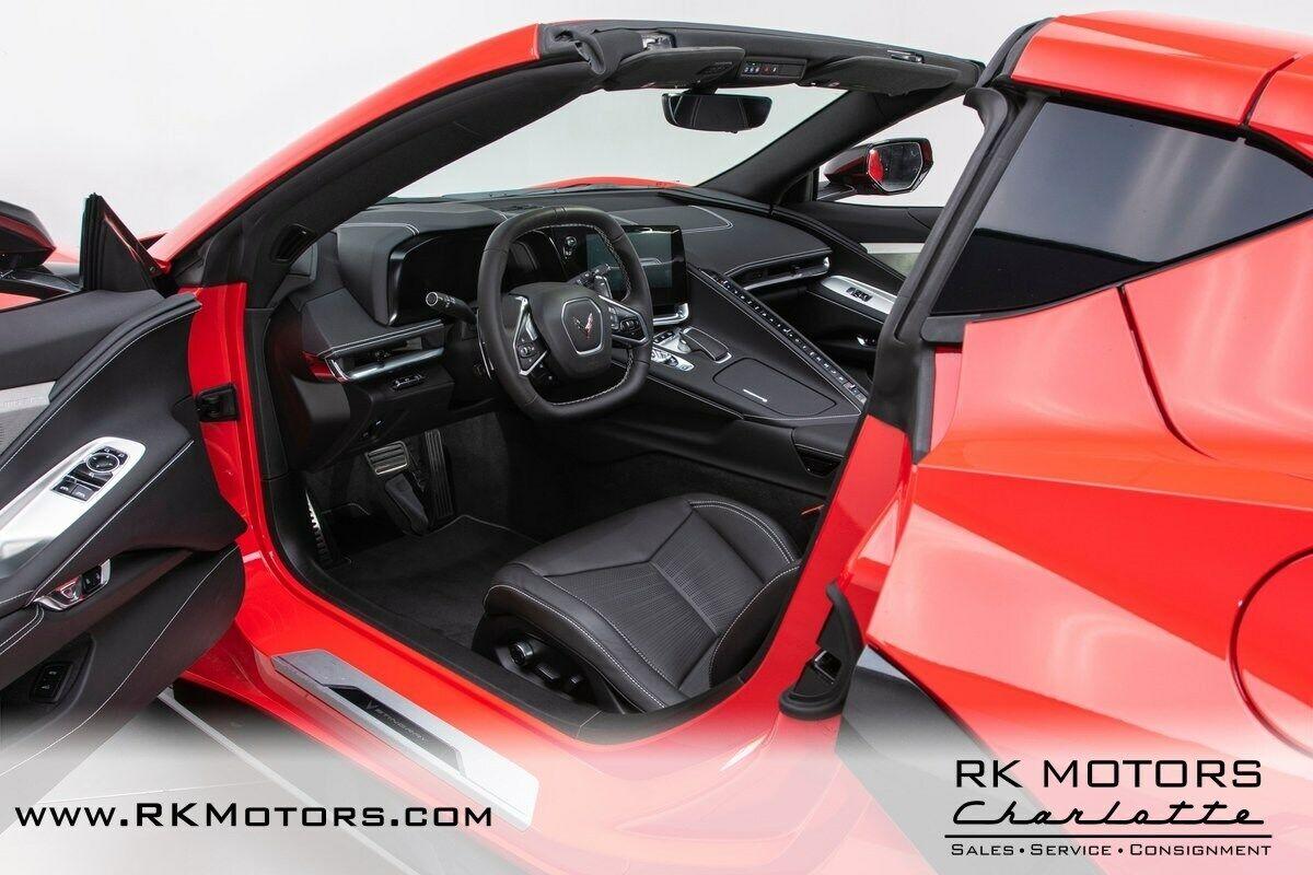 2020 Red Chevrolet Corvette     C7 Corvette Photo 3