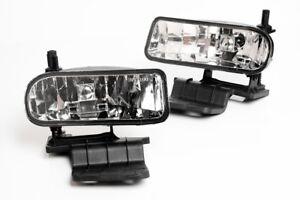 99-02 Chevy Silverado 00-06 Suburban Tahoe Clear Lens Fog Lights Lamps 2PCS