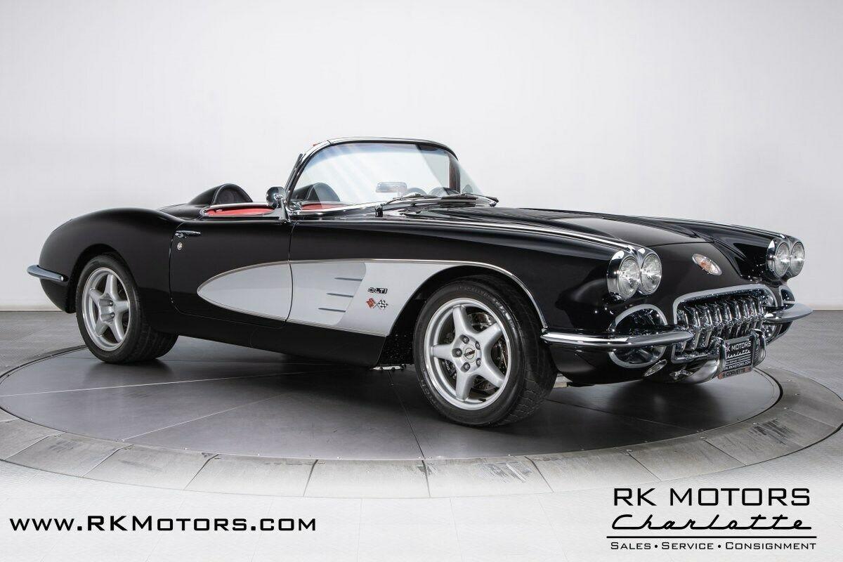 1958 Black Chevrolet Corvette   | C1 Corvette Photo 9