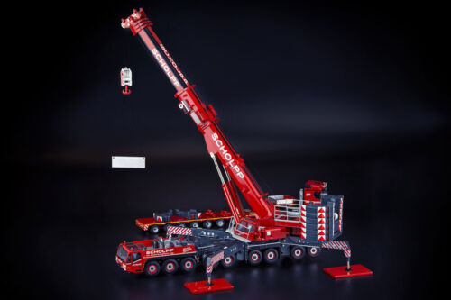 Demag AC700-9 Mobile Crane - Scholpp - IMC 1:50 Scale Model #33-0158 New!