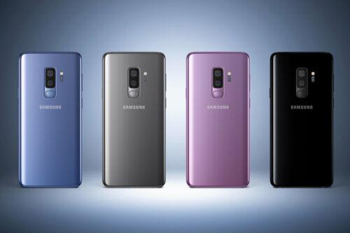 OB Samsung Galaxy S9+ Plus (SM-G965U) 64GB Purple Gold Black GSM Unlocked-SBI