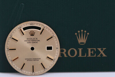 Rolex Mens 1803 President Light Champagne Chaptering Stick Dial  FCD8539