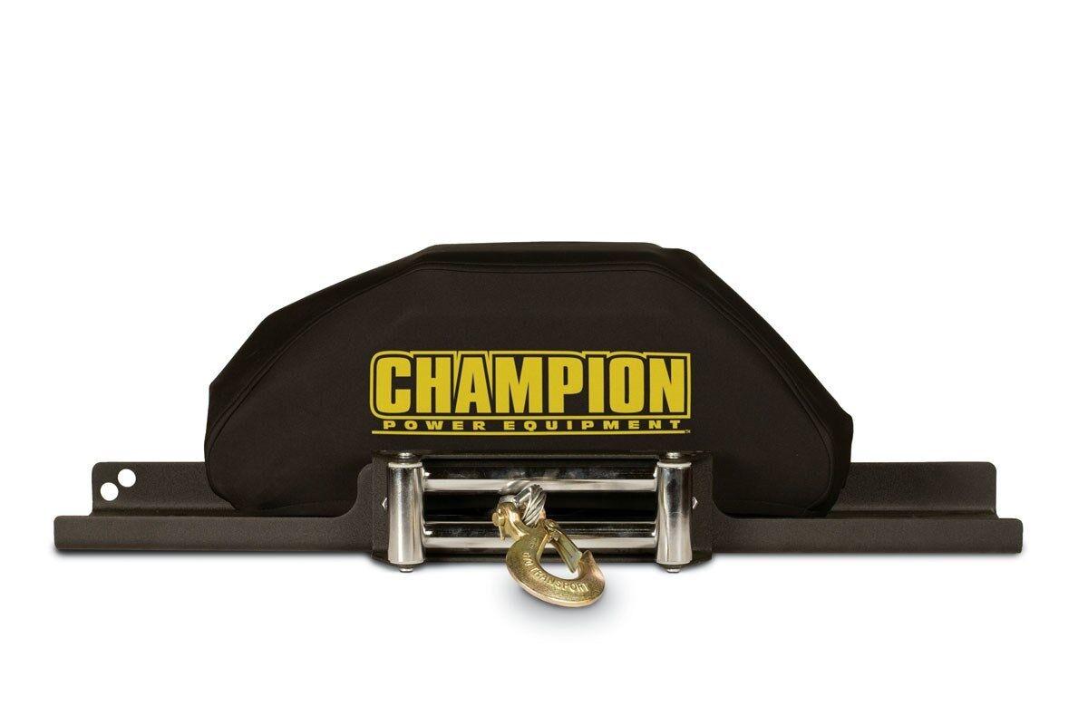 18035- 8,000-12,000lb Champion Power Equipment Custom Fit Neoprene Winch Cover