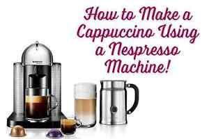 nespresso machine that makes cappuccino