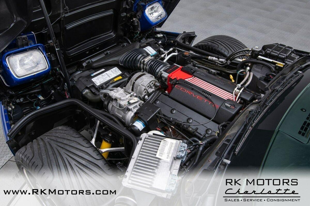 1996 Blue Chevrolet Corvette Grand Sport    C4 Corvette Photo 6