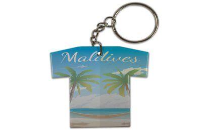 Schlüsselanhänger Abenteurer  Malediven Trikot bedruckt
