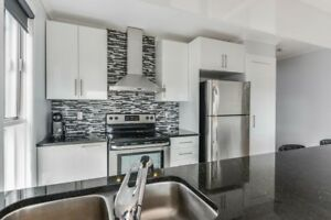 Modern 4 1/2 apartment july montreal east RDP a louer