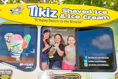 Mobile Food Truck - Shaved Ice And Ice Cream - The Coolest Truck On Earth