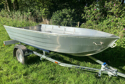 Bantam V - 3.3m Aluminium V Hull Lightweight Fishing & Work Jon Boat - NEW!