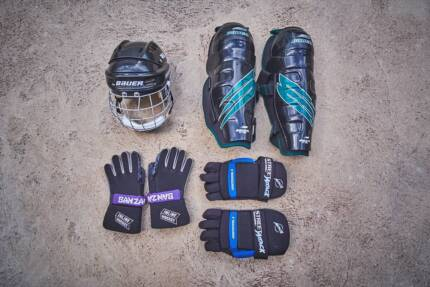 Roller - Ice Hockey Gear - Bauer Helmet and Pads - Gloves Canberra City North Canberra Preview