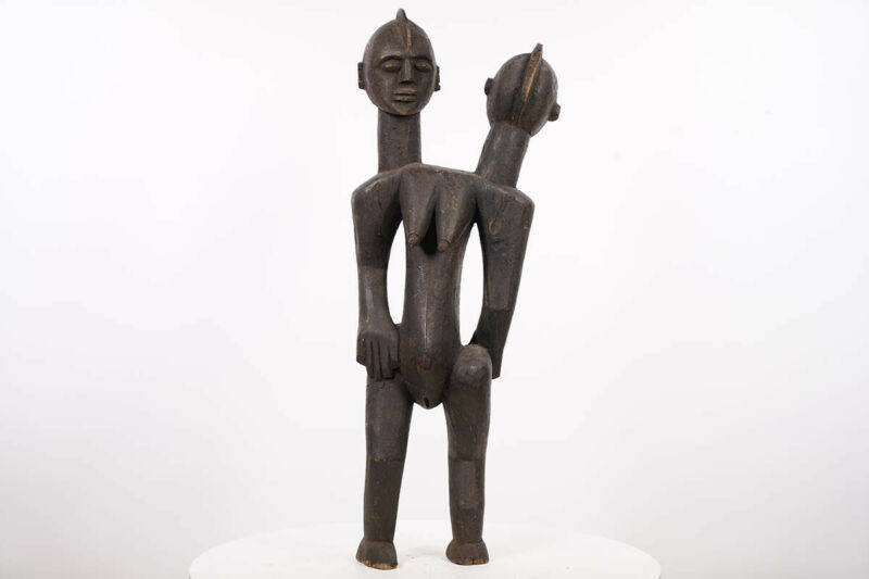 "Abstract Chamba Inspired Statue 28"" - Nigeria - African Art"