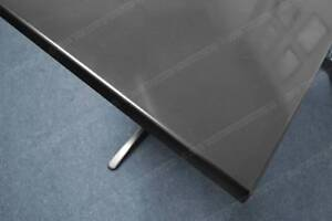Fully Refurbished Black Cafe Tables (3x) 610mm by 610mm by 730mm Lonsdale Morphett Vale Area Preview