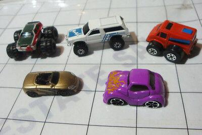 Small Toy Cars (LOT 5x MICRO DIECAST car auto machines suv truck mini small tiny toy cars)