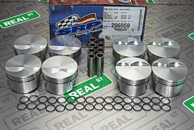 SRP Forged Pistons  Flat Top 351W Windsor Stroker  4.030 Bore 12.0:1 206059