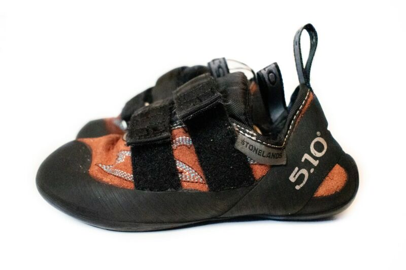 5.10 stonelands rock-climbing shoes, US 5.5, used, good condition
