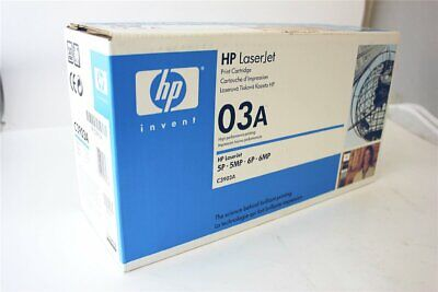 Original HP Toner C3903A 03A black für HP LaserJet 5 6 in OVP [90-14-23] (Hp Laserjet 03a)