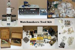 Watchmaker Tools and Parts Swansea Heads Lake Macquarie Area Preview