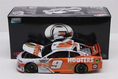 CHASE ELLIOTT #9 2018 HOOTERS ELITE 1/24 SCALE NEW IN STOCK FREE SHIPPING