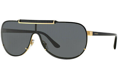 Authentic Versace VE2140 - 100287 Sunglasses Gold w/ Grey *NEW* (Versace Sunglasses 2140)
