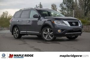 2014 Nissan Pathfinder - 4X4, LEATHER, REAR DVD PLAYER, NAVIGATI