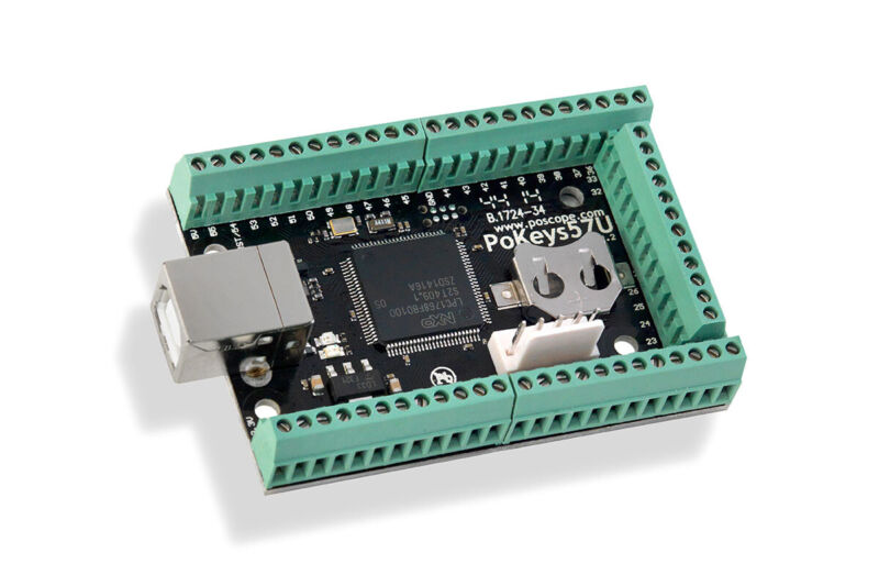 PoKeys 57 for USB with Terminals