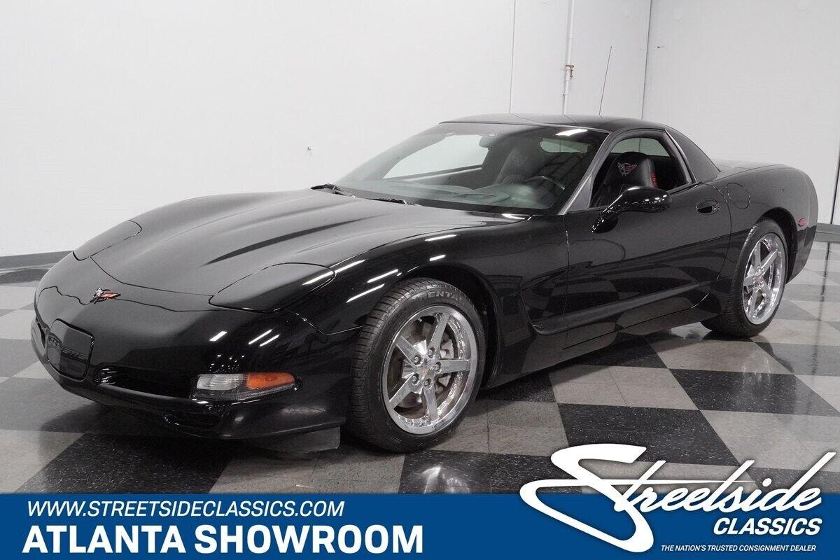 2000 Black Chevrolet Corvette   | C5 Corvette Photo 1