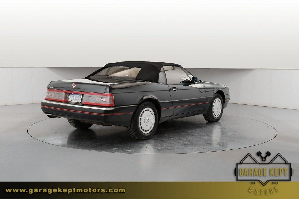 1991 Cadillac Allante  Black Convertible 4.5L V8 92748 Miles