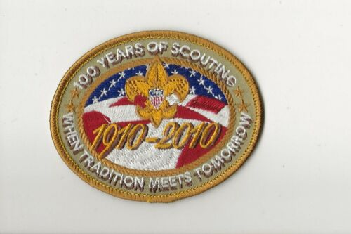 100 YEARS OF SCOUTING / 1910*2010 - unused - Boy Scout BSA A132/3-27