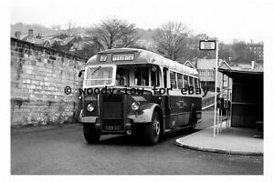 pt9090 - Midland General Bus - KRB 90 to Matlock in 1961 - photograph